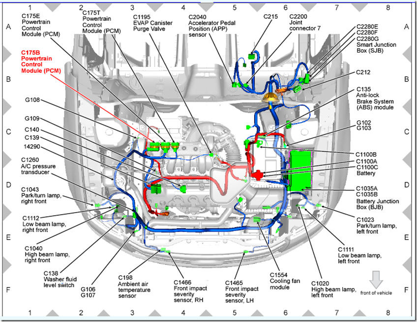 2011 Ford Edge Wiring Diagram Edge Download Free Printable