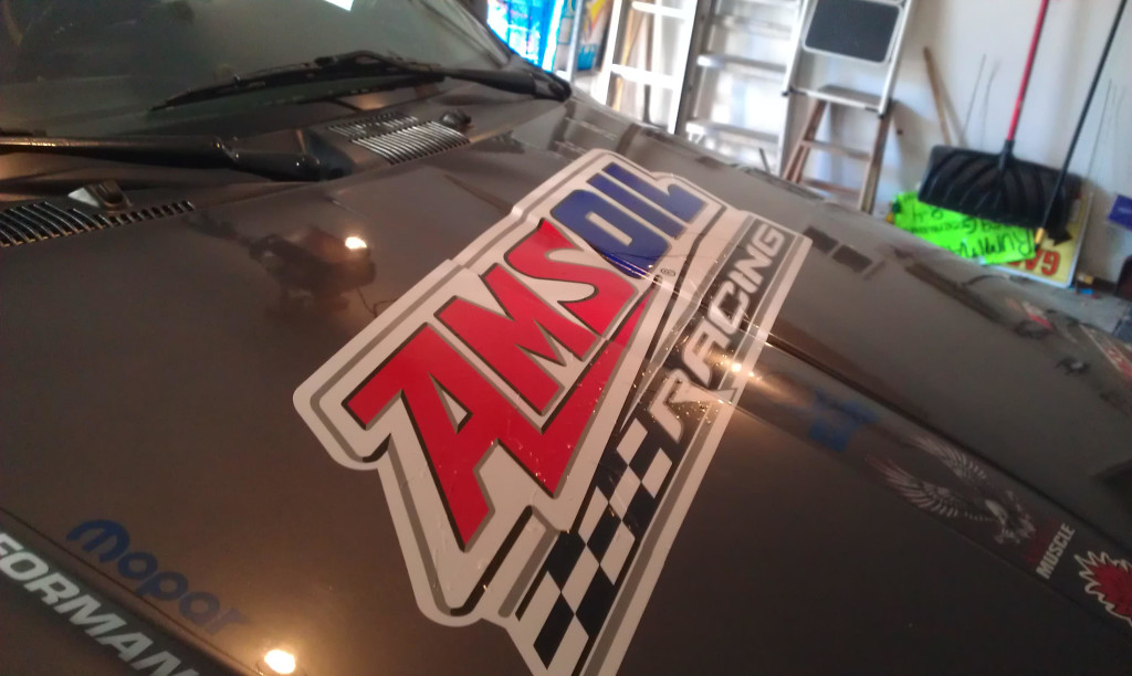 Amsoil Sticker