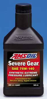 SEVERE GEAR® Synthetic Extreme Pressure (EP) Lubricant 75W-140 (SVO)
